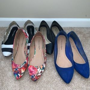 Bundle of 4 Flats